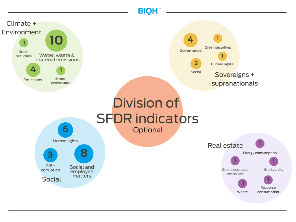 Division of SFDR indicators _ optional | Adverse Sustainability Impacts Statement