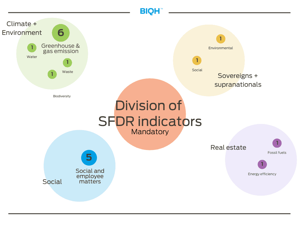 Division of SFDR indicators _ mandatory | Adverse Sustainability Impacts Statement